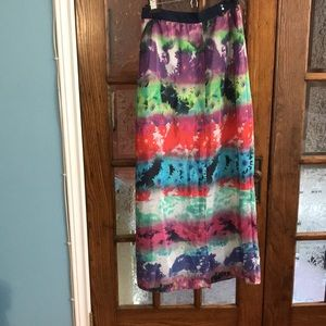 Designer Maxi skirt, new with tags!